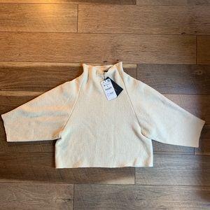 Zara Knit Cowl Neck Sweater